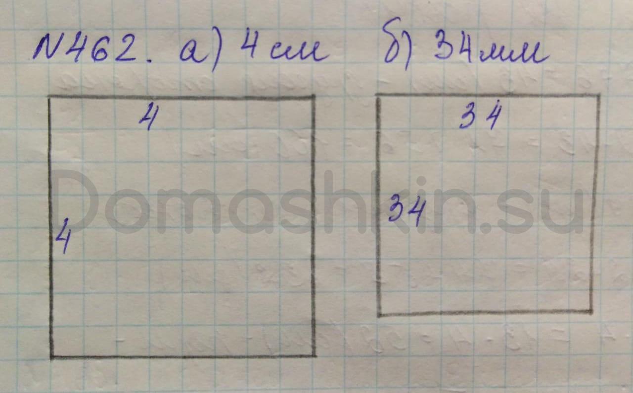Математика 5 класс учебник Никольский номер 462 решение