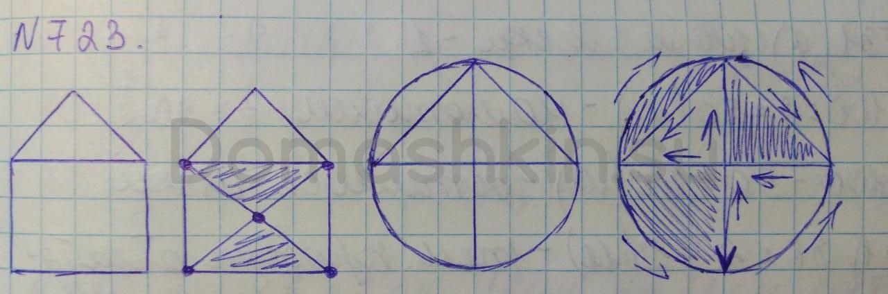 Математика 5 класс учебник Никольский номер 723 решение
